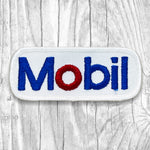 Mobil Small Vintage Patch