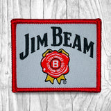Jim Beam Red/Gray Vintage Patch
