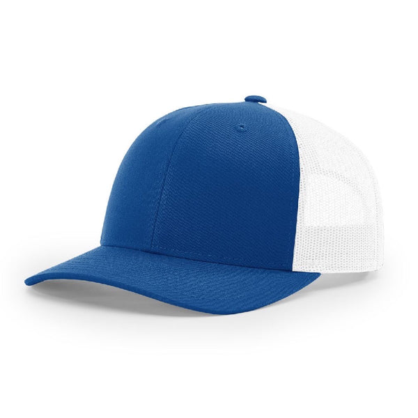 Richardson 115 Royal/White Low Pro - Trucker Snapback