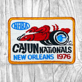 NHRA 1976 Cajun Nationals New Orleans Vintage Patch