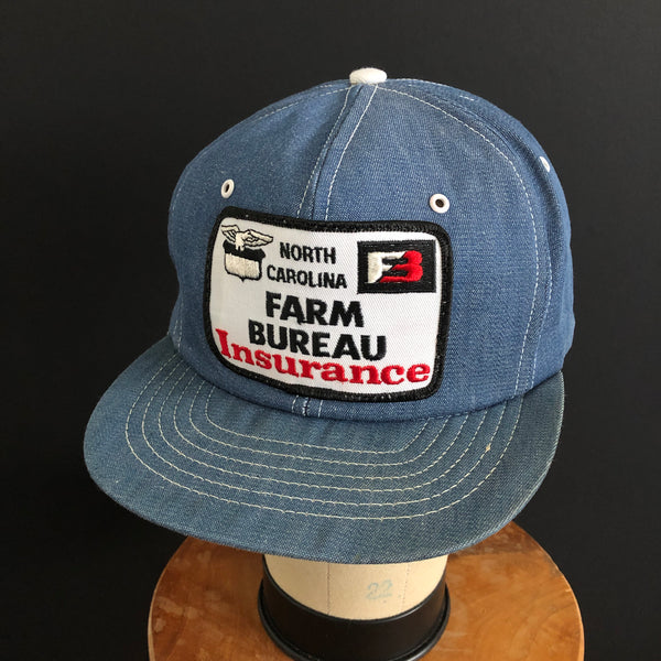Farm Bureau Insurance - North Carolina. Vintage Snapback By Swingster