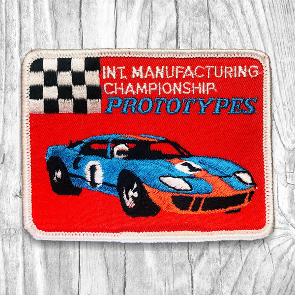 INT. MANUFACTURING CHAMPIONSHIP PROTOTYPES Vintage Patch