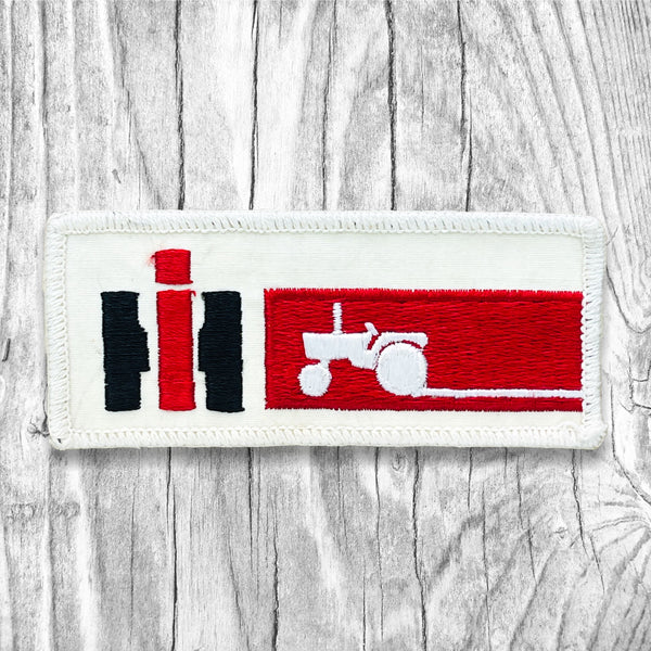 IH Tractor Vintage Patch