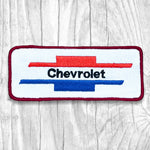 Chevrolet Red, White & Blue Vintage Patch
