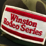 Winston Rodeo Series + Swingster NOS Camo Snapback