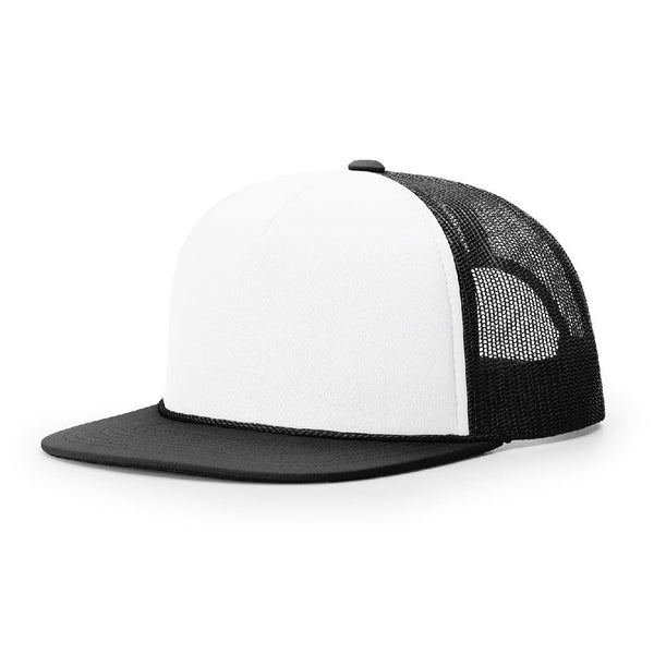 Richardson 113 White/Black Foamie Trucker