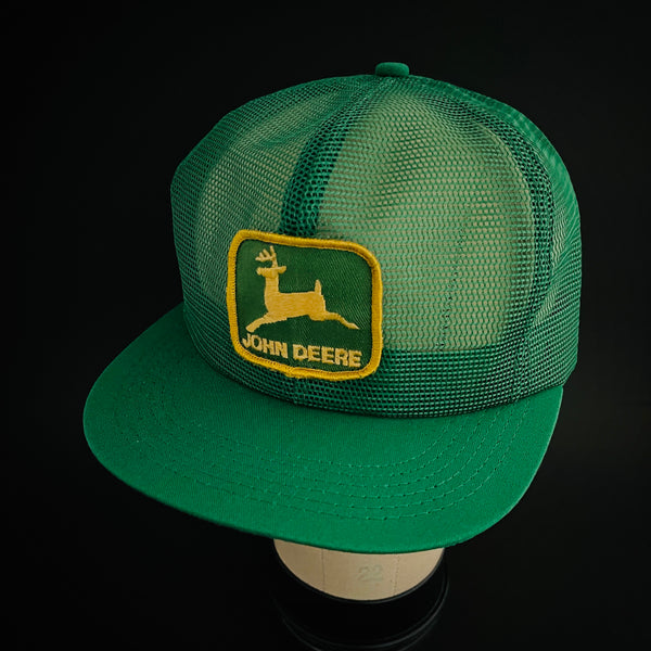 John Deere K-Products Vintage Full-Mesh Trucker