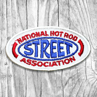 National Hot Rod Street Association Vintage Patch