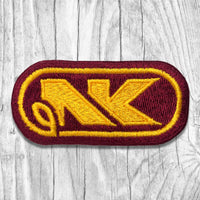 NK Yellow/Maroon Vintage Patch