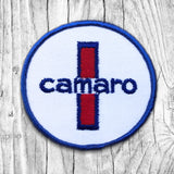 Camaro Red, White & Blue Vintage Patch