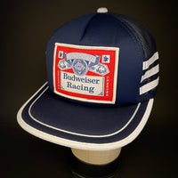 Budweiser Racing - 3 Stripe Vintage - Small/Medium Trucker Snapback