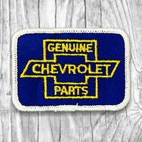Genuine Chevrolet Parts Vintage Patch