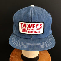 TWOMEY'S Vintage K-Products Denim Snapback