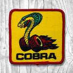 COBRA Yellow/Red Vintage Patch