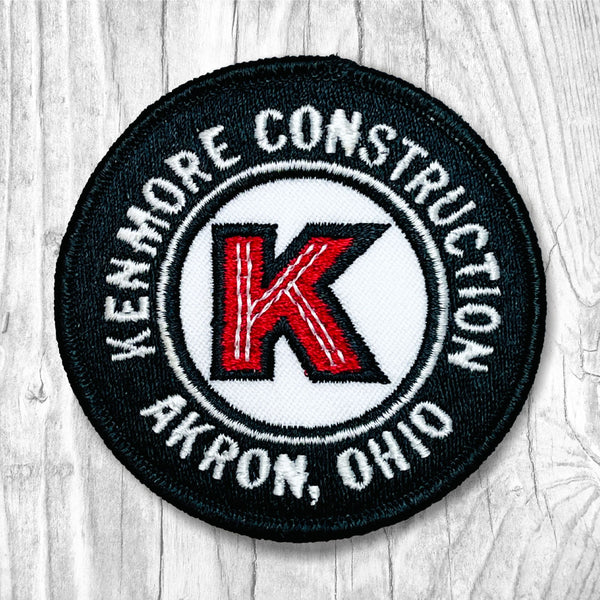 Kenmore Construction. Akron, Ohio Vintage Patch