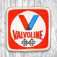 Valvoline Checkered Flag Vintage Patch