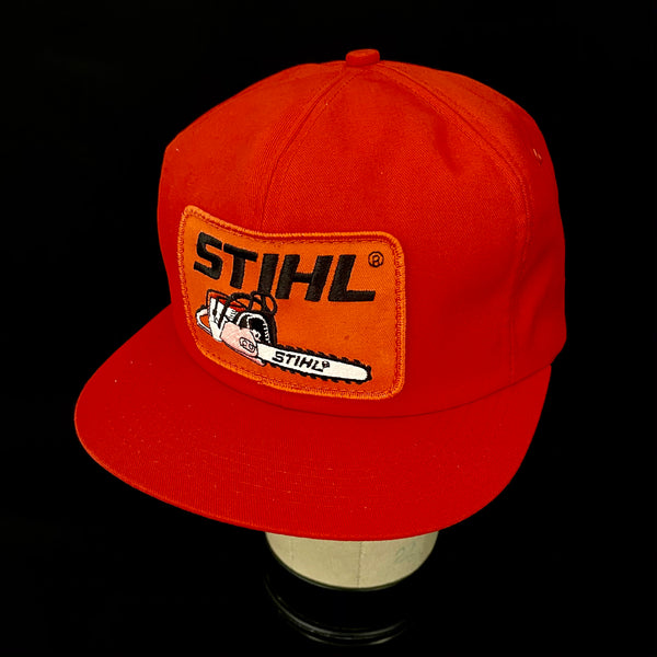 Stihl Chainsaw Vintage K-Products Trucker Snapback