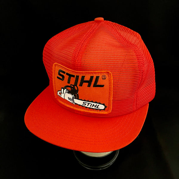 Stihl Chainsaw Vintage K-Products All-Mesh Trucker Snapback