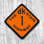 The OK State Highway 1 Orange/Black Patch  :: The Lost Highway