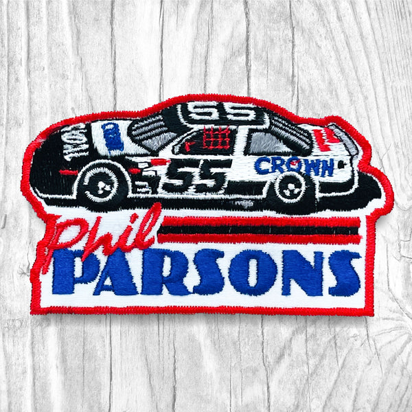 Phil Parsons #55 Vintage Patch