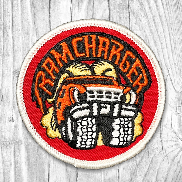 Dodge Ram Charger Vintage Patch.