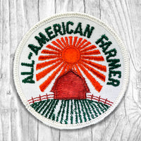 All-American Farmer Vintage Patch.