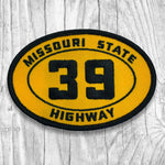 Missouri State Highway 39 Patch :: The Lost Highway