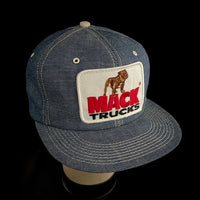 MACK TRUCKS Vintage K-Products Denim Trucker Snapback