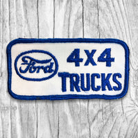 Ford 4x4 Trucks Vintage Patch