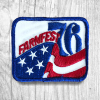 FARMFEST 76 Vintage Patch