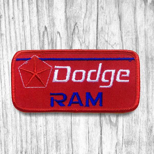 Dodge Ram Vintage Patch
