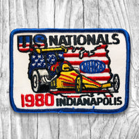 NHRA 1980 U.S. Nationals Indianapolis. Vintage Patch