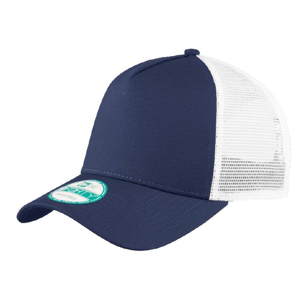 Deep Navy/White New Era 9FORTY Trucker Snapback Mesh