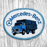 Mercedes-Benz Diesel Trucks Vintage Patch