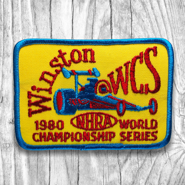 NHRA WINSTON 1980 World Championship Series Vintage Patch