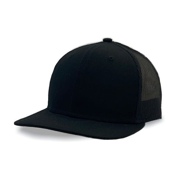 New Era 9FIFTY Low Profile Trucker Black Mesh Snapback
