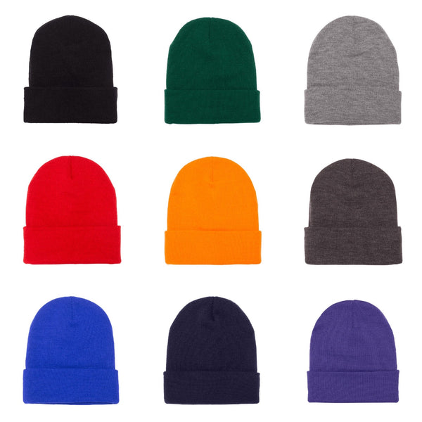 Yupoong Cuffed Beanie 1501KC (Available in 12 Colors)