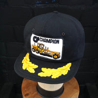 ChampionsSnapback with Scrambled Eggs Visor. Made in Canada