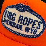 King Ropes. Sheridan, Wyoming. Vintage K-Products Snapback