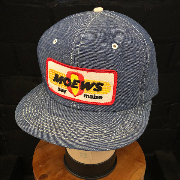 MOEWS. Vintage K-Products Denim Snapback