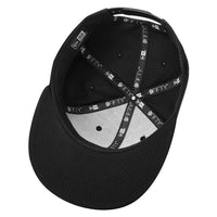 Black. New Era 9FIFTY Solid Snapback