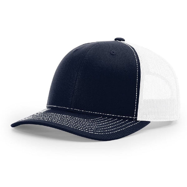 112 Dark Navy/White Richardson Trucker Snapback