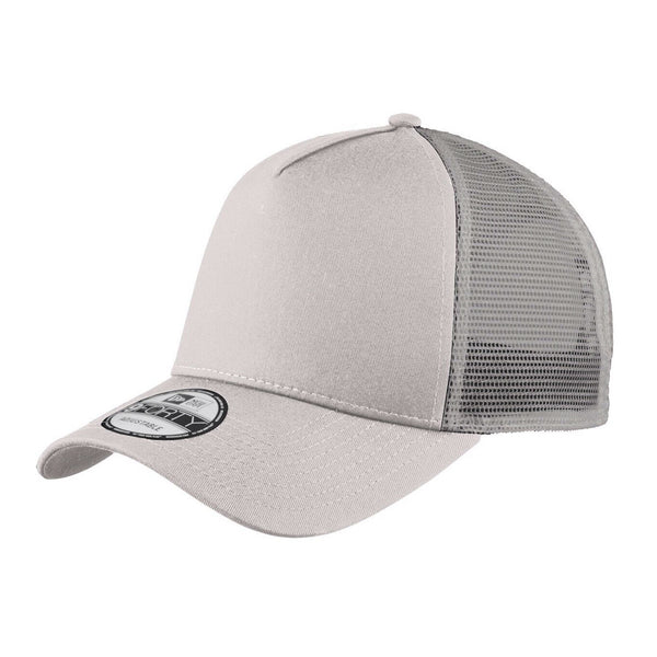 *NEW COLOR* Grey New Era 9FORTY Trucker Snapback Mesh