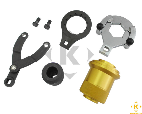 Bmw Drive Shaft Nut Remover And Installer Tool Set Kommen Tools Inc