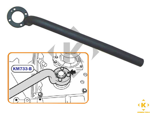BMW Crankshaft Pulley Holding Tool (M60 / M62)