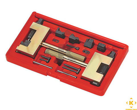 Mercedes Benz Timing Chain Riveting Tool Set - Single Row and Double Row
