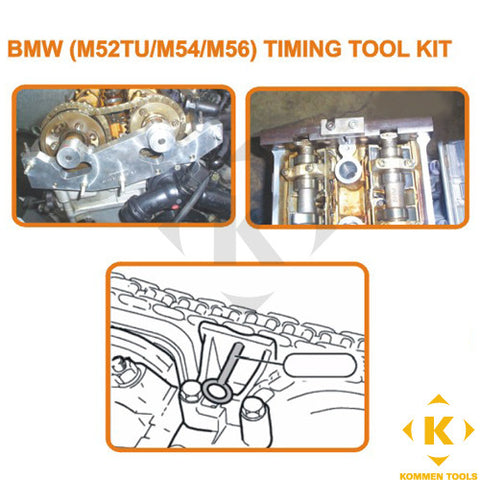 BMW M52TU M54 M56 Master Camshaft/Vanos Timing Tool Kit