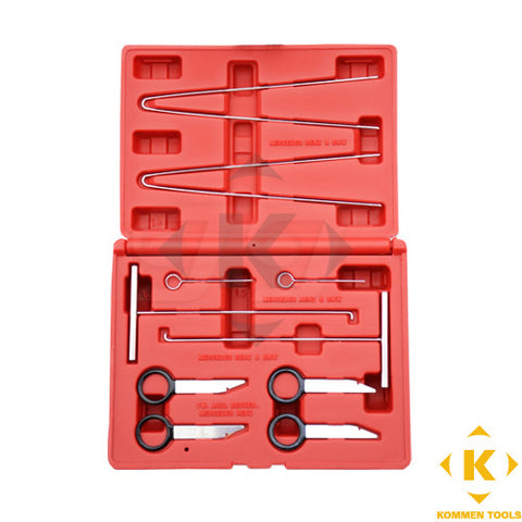 10pcs Mercedes Benz Dashboard Radio Removal Remover Service Tool Kit