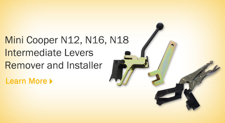Mini Cooper N12, N16, N18 Intermediate Levers Remover and Installer (with plier)