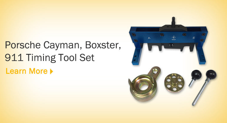 Porsche Cayman, Boxster, 911 Timing Tool Set (2009-2015)